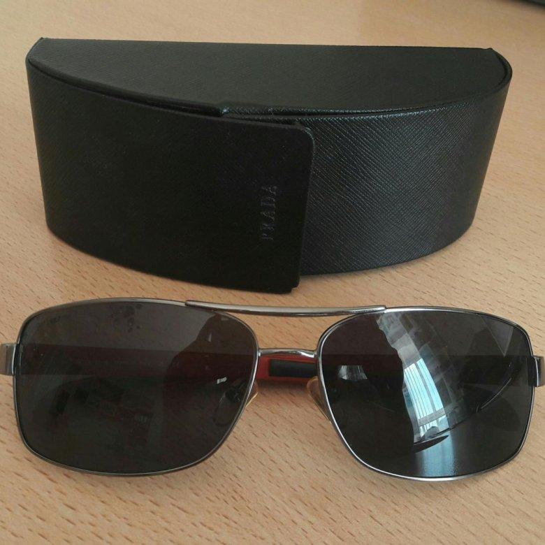 97ea271d3c29 Prada мужские солнцезащитные очки – купить в Екатеринбурге, цена 2 500  руб., продано 22 мая – Аксессуары