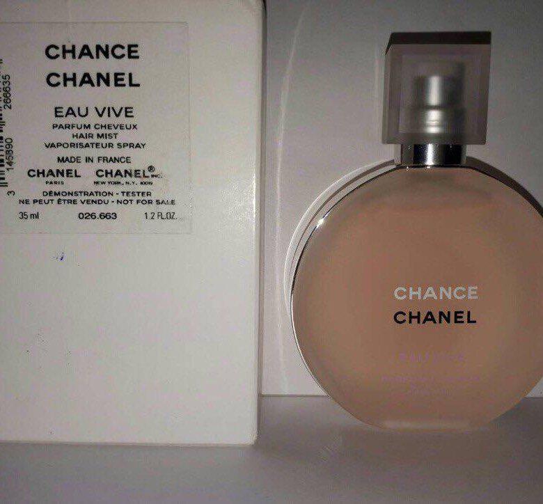 Chanel Chance Eau Vive вуаль для волос купить в реутове цена 2