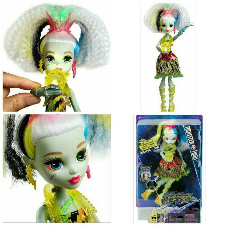 Кукла монстер хай фрэнки штейн под напряжением