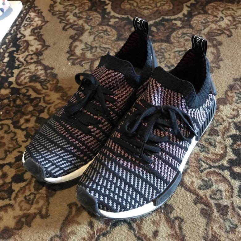 b5f3f500 Adidas nmd r1 stlt primeknit – купить в Москве, цена 5 999 руб., продано 22  июня 2018 – Обувь