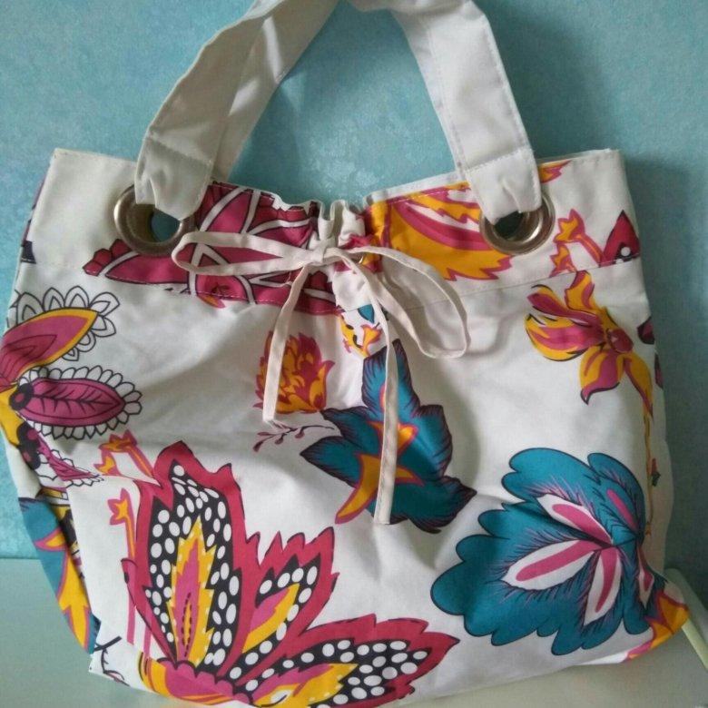 Пляжная сумка из avon косметика тестеры купить
