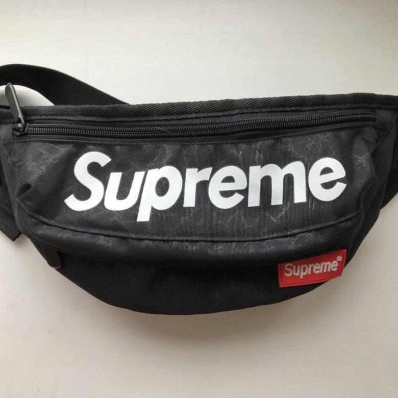 c841e683416f Поясная сумка Supreme – купить в Екатеринбурге, цена 800 руб., истекает  сегодня в 14:25 – Аксессуары
