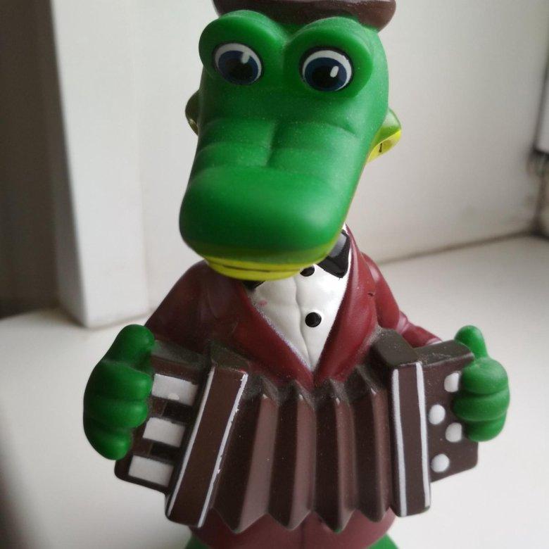 образом, крокодил гена игрушки картинки потрясающе зелёный край