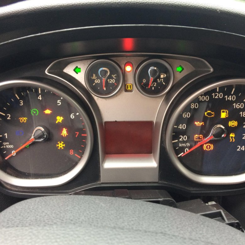 панель прибора форд картинка