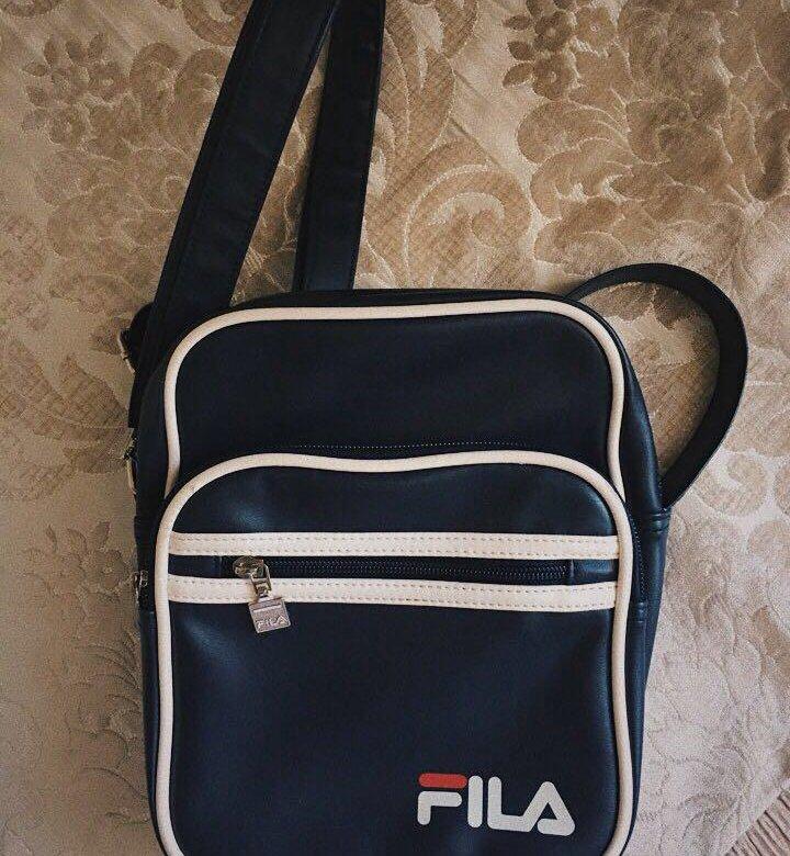 22cc23613611 Темно-синяя сумка на плечо Fila Vintage Aldrich – купить в Москве, цена 1  030.93 руб., продано 3 января – Аксессуары