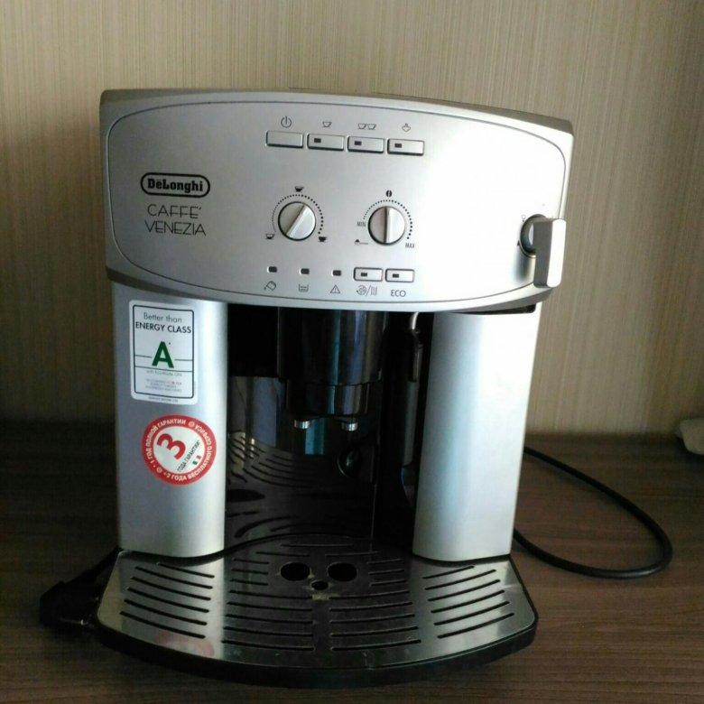 кофемашина делонги кафе венеция инструкция