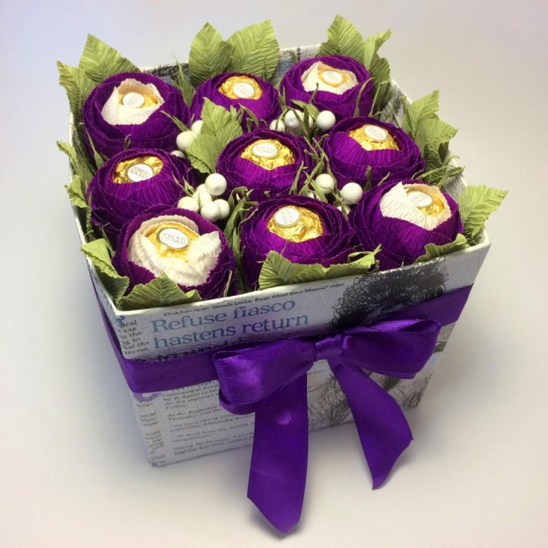 Можно открытку конфеты ферерро и цветы мелкие китайские розы, открытки