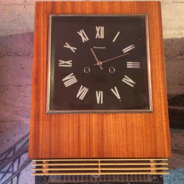 Часы янтарь цена