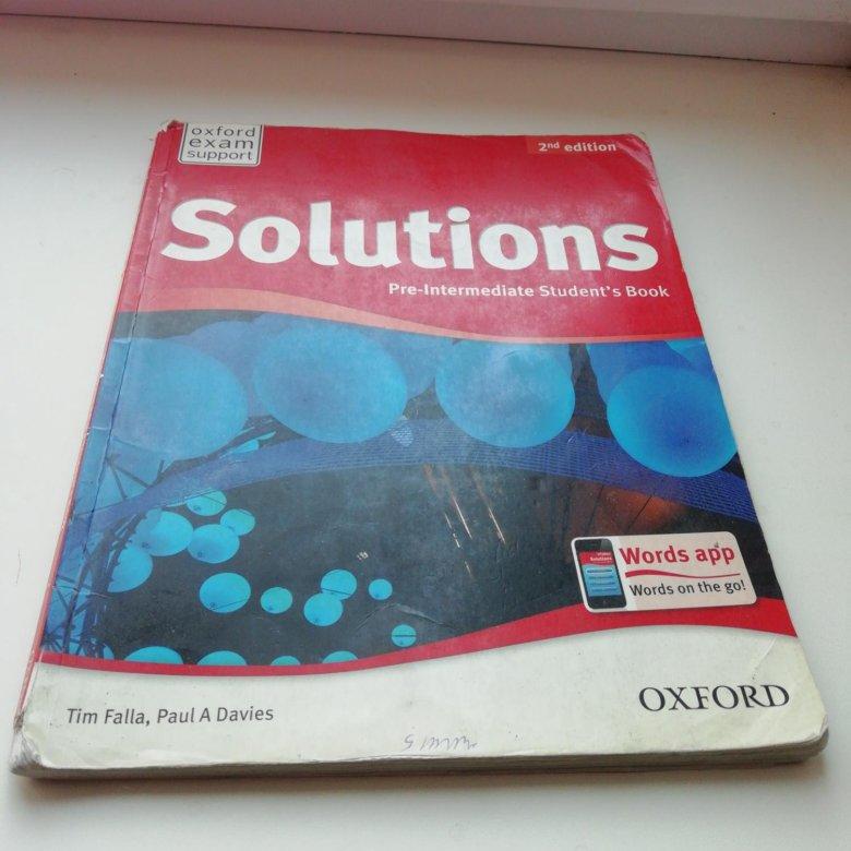 Гдз По Английскому Solutions 2nd Edition Elementary Students Book