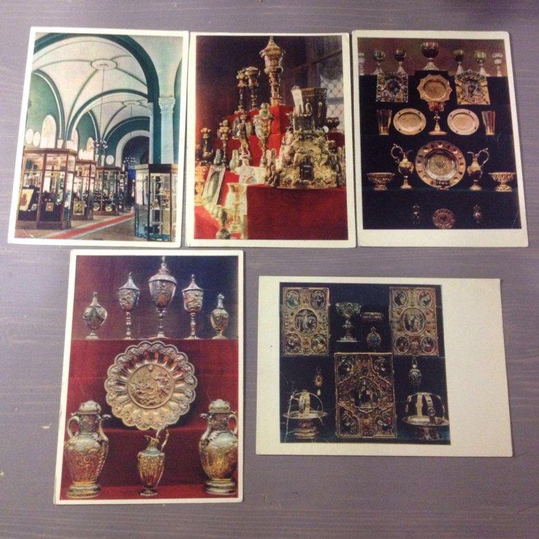 Девочкам, коллекция открыток иванова