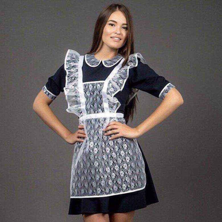 Формы платья фартук красивые