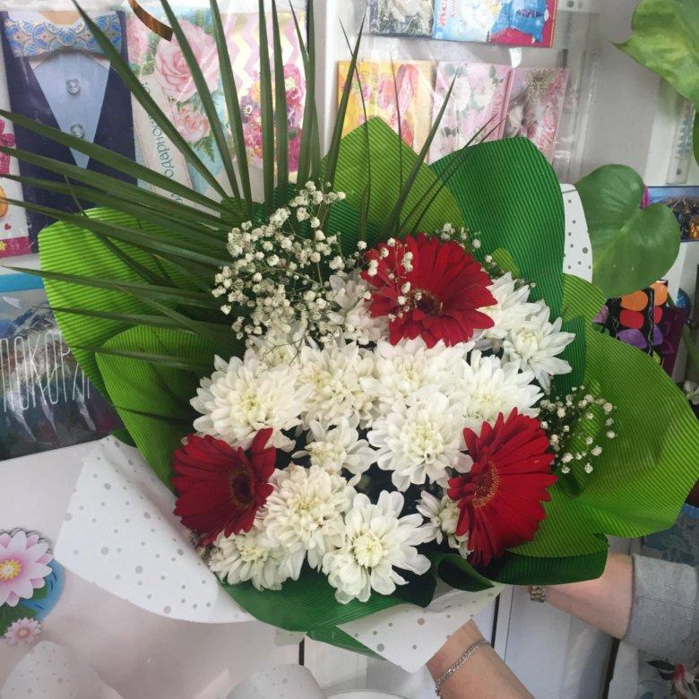 Букет цветов за 650 рублей спб