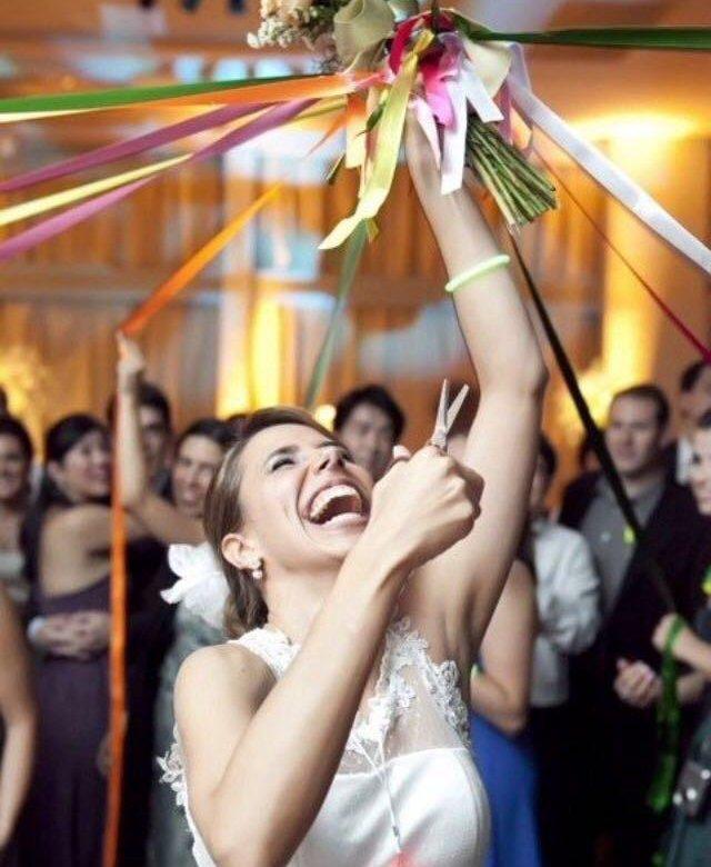 Чей букет бросает невеста свадьбе, растений киев