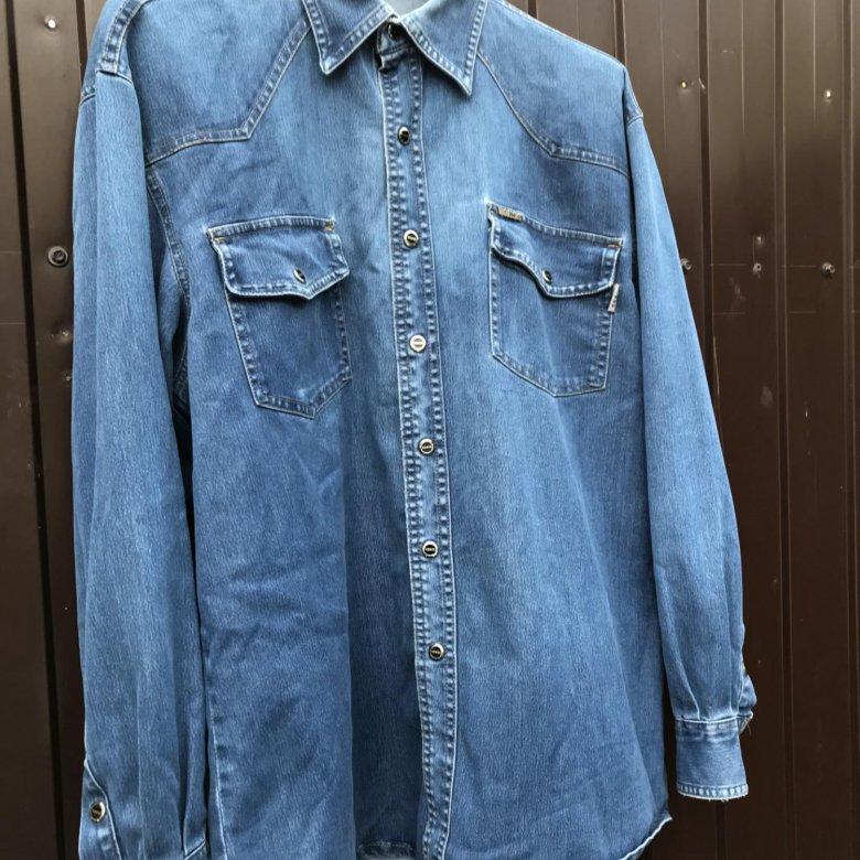 088966bd1c1 Джинсовая рубашка Voess – купить в Красноярске