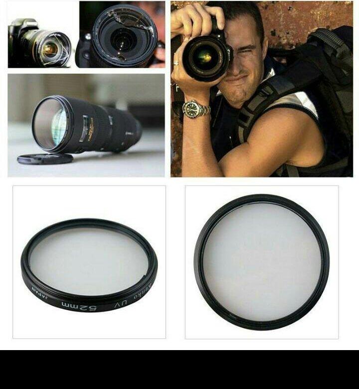 зачем нужны защитные фильтры на фотоаппарат добавок привычному