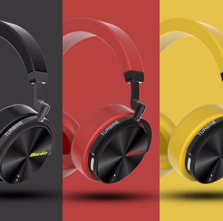 <b>Bluedio</b> T5S Active <b>Беспроводные Bluetooth наушники</b> – купить в ...
