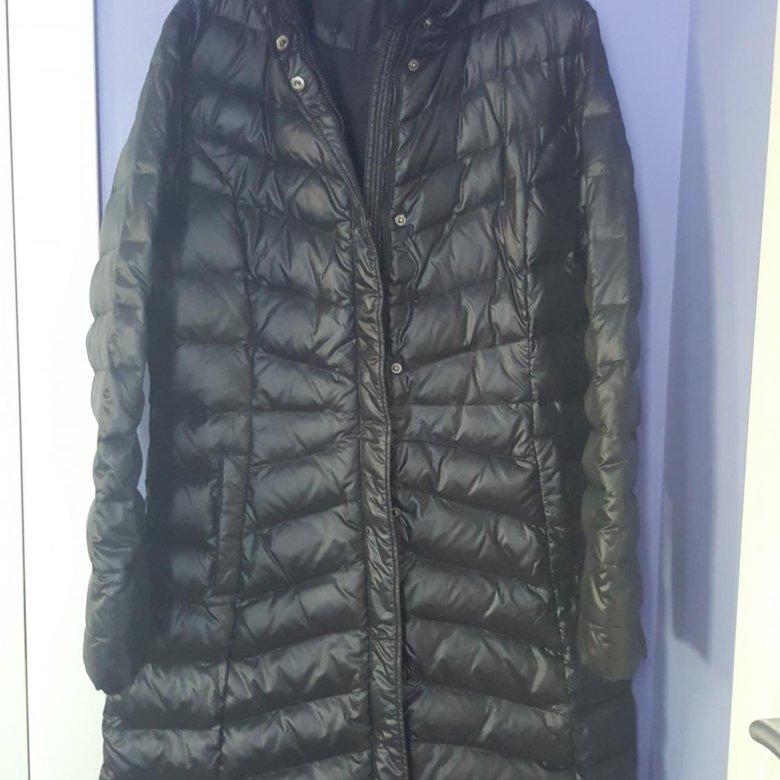 Пальто пуховое AUDIMAS – купить в Москве, цена 18 000 руб., дата  размещения  27.01.2019 – Верхняя одежда 18c3482c2c0