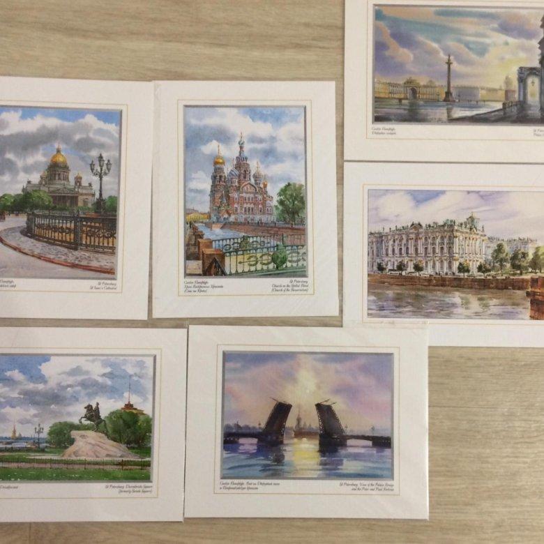 Наборы открыток санкт-петербург