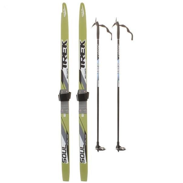 ac3ef06fecce Лыжи комплект 125 85см – купить в Ижевске, цена 1 150 руб., дата ...
