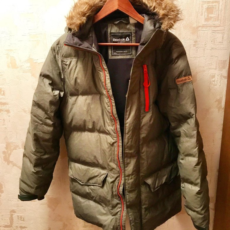 d89732d19a45a Продам пуховик мужской LONG DOWN JKT 1 Reebok – купить в Москве, цена 3 000  руб., продано 4 ноября 2018 – Верхняя одежда