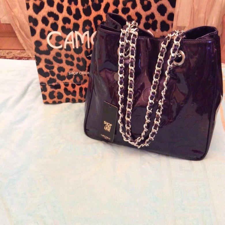 4b39b8816c81 Итальянская женская сумка Camomilla 🇮🇹 – купить в Москве, цена 3 990  руб., продано 24 ноября 2018 – Аксессуары