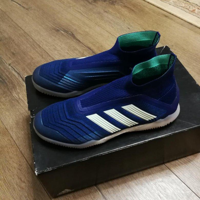 558cb25f2218e3 Футзалки Adidas Predator Tango 18+ IN – купить в Екатеринбурге, цена 3 990  руб., продано 10 февраля – Обувь