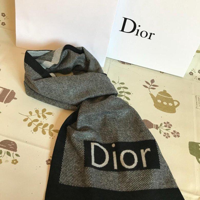 Мужской шарф 🧣 DIOR – купить в Москве, цена 1 200 руб., продано 19 декабря  2018 – Аксессуары 989eb4f64ae