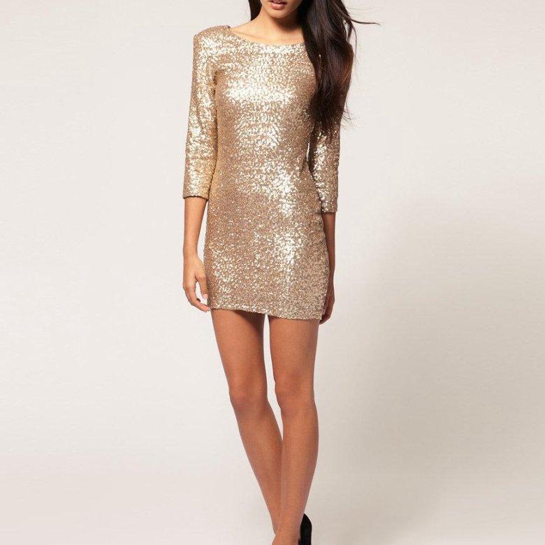 блестящее платье купить