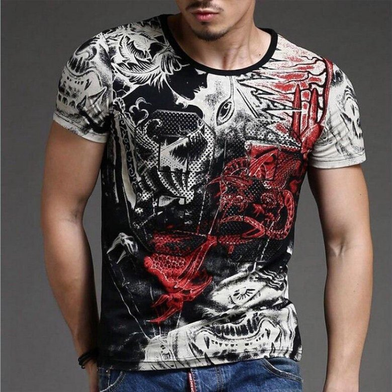 Модные мужские футболки 2021