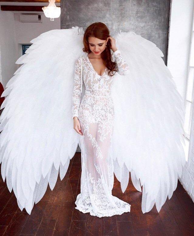 фотосессия в костюме ангела пропускает