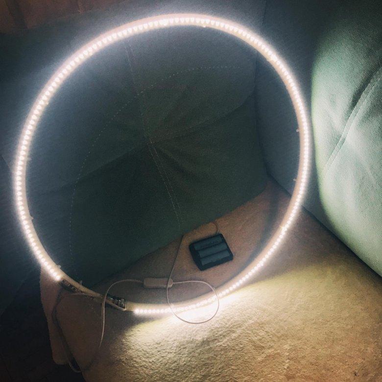 Световое кольцо для фото в клубах