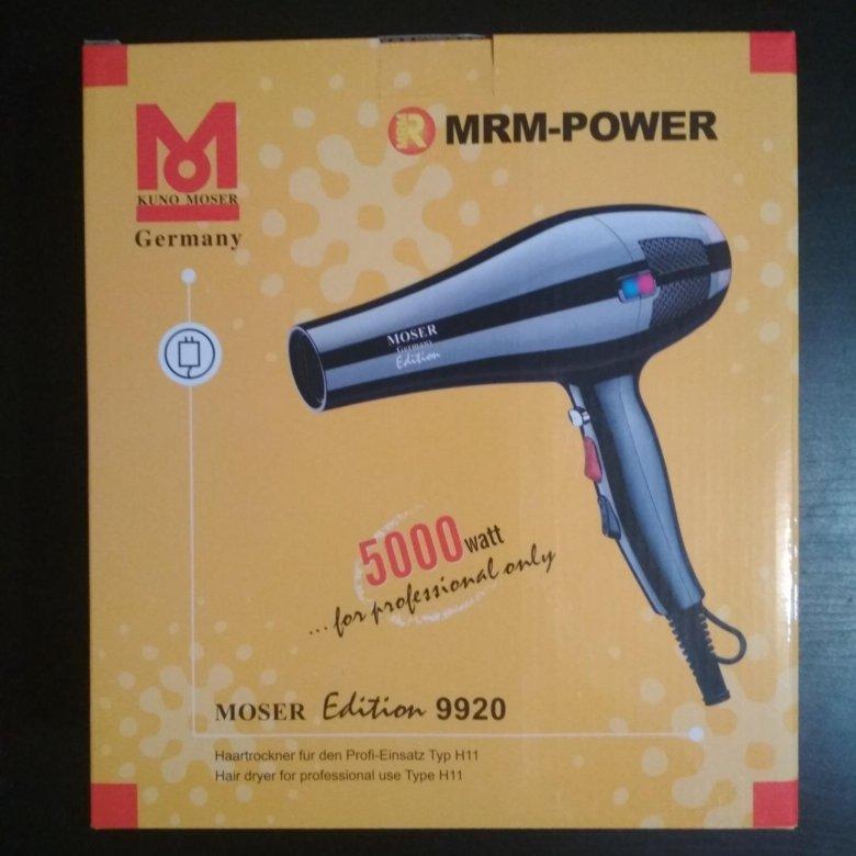 Новый ! Профессиональный фен Moser 9920 – купить в Москве 0d15d2c91e748