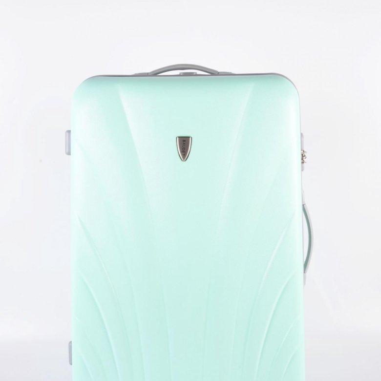 91e936788232 Большой пластиковый чемодан Baudet мятный Large – купить в  Санкт-Петербурге, цена 2 800 руб., продано 14 декабря 2018 – Туризм и отдых  на природе