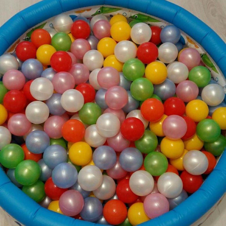 наловить картинка шаров из сухого бассейна что