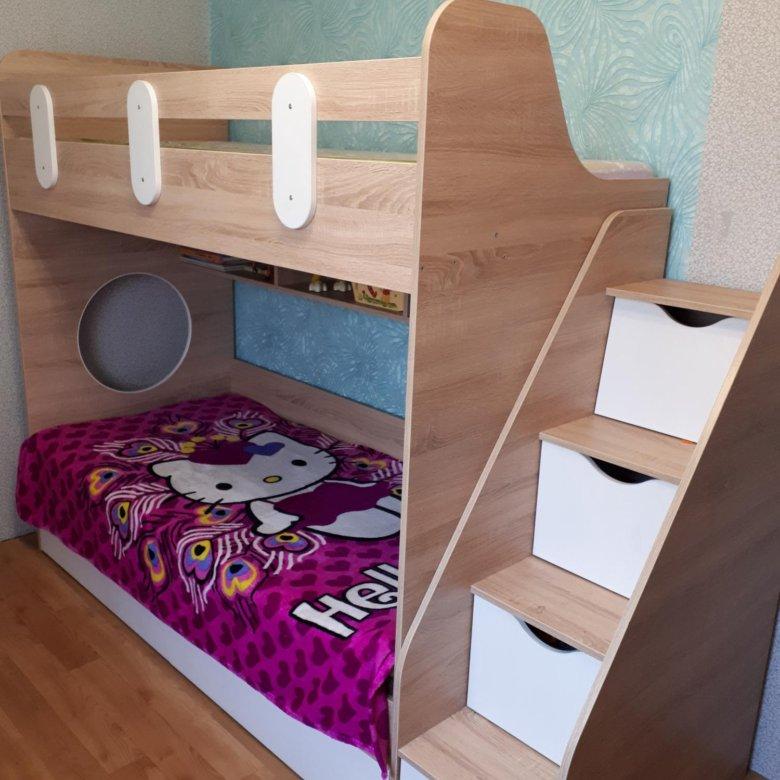 Двухъярусные кровати в хабаровске фото