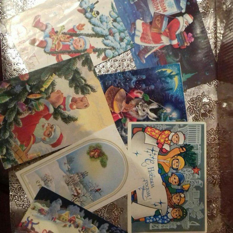 Продам открытки старые