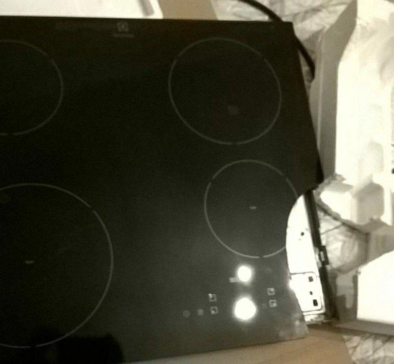 фото разбитой индукционной плиты черта сивой масти