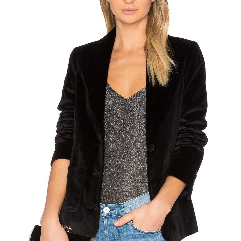 Бархатные пиджаки женские фото