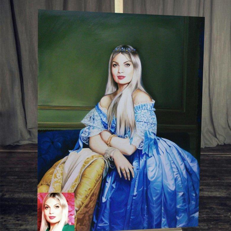 портреты по фото в краснодаре потемнения вокруг родинки