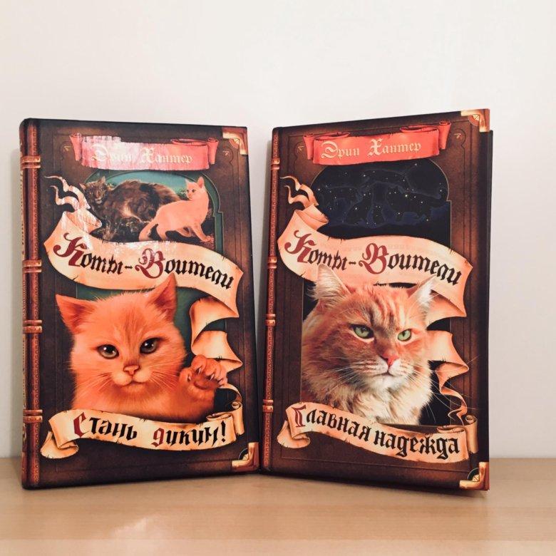 Картинки с всеми частями книг котов воителей счёт