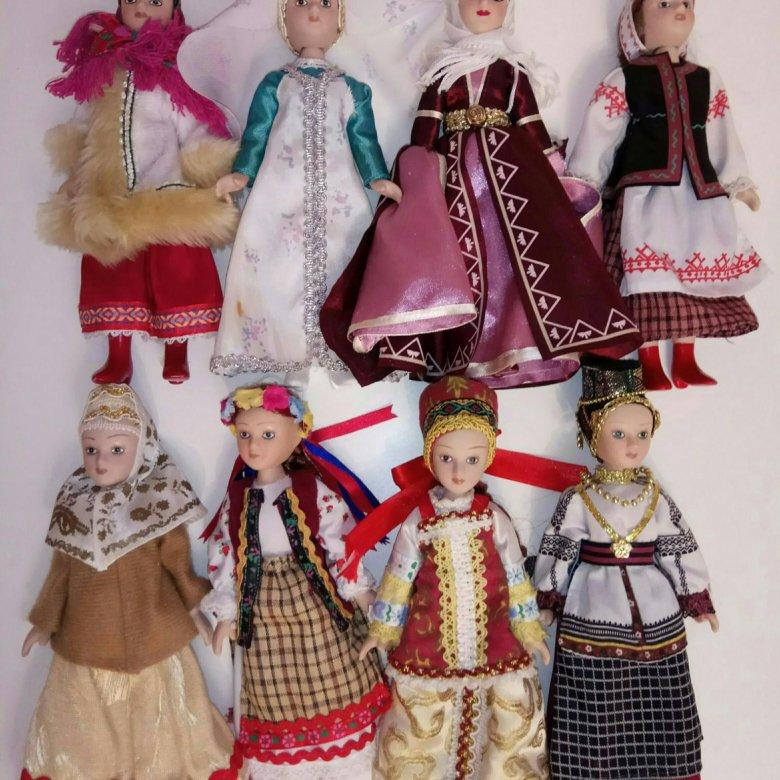 Картинки куклы в национальных костюмах россии, добрым