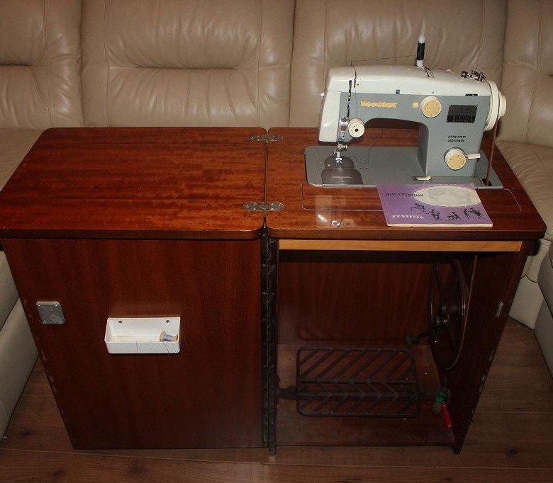 швейная машинка в тумбе картинки бьюти-средства помогают
