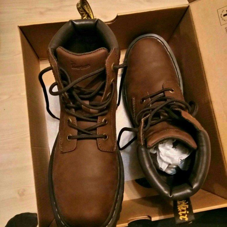Ботинки DR. MARTENS CARTOR 6-EYE BOOTS – купить в Санкт-Петербурге ... a18ac4318a9b8
