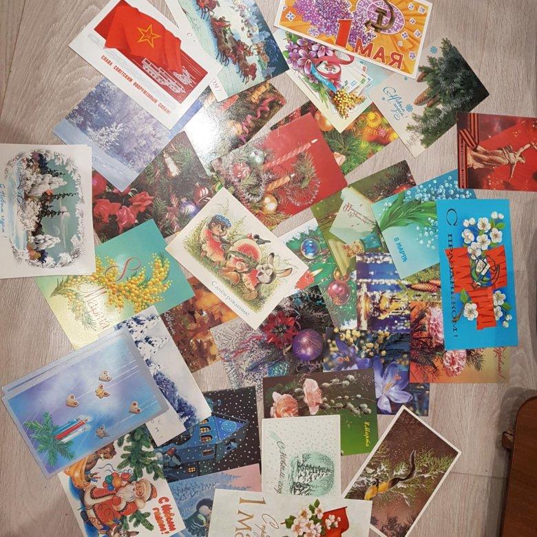 Коллекционирование советские открытки, открыток 100 картинки