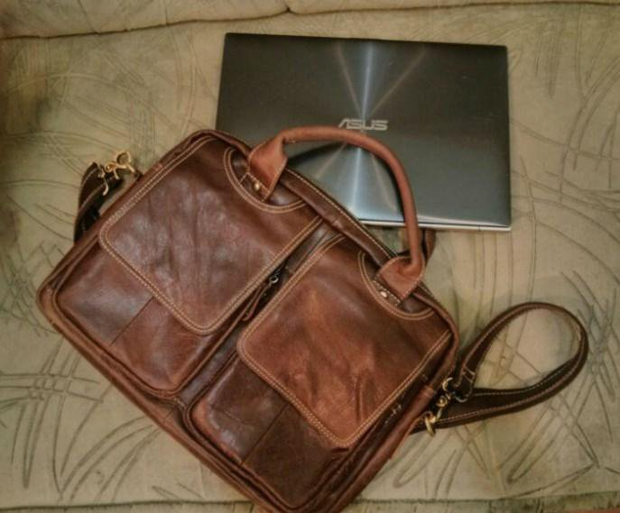 5bbe238441fb Hamilton - кожаная мужская сумка – купить в Самаре, цена 2 490 руб ...