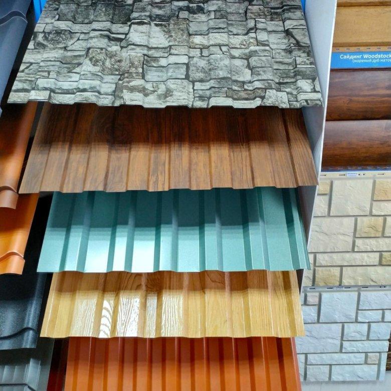 цвета профнастила для крыши картинки может быть утеплен