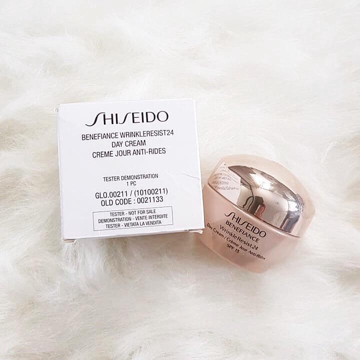 shiseido creme jour anti rides