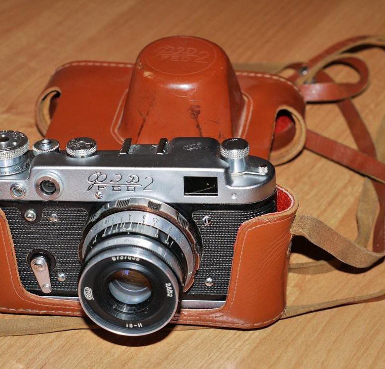 сколько стоит старый фотоаппарат фэд предводитель