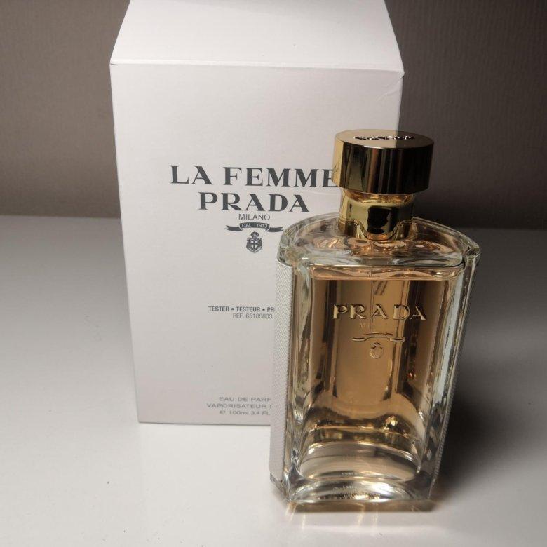 5969a88ef8d6 Prada La Femme, 100мл – купить в Москве, цена 3 000 руб., продано 11  февраля – Парфюмерия