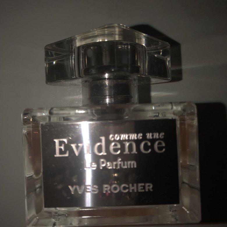 духи Evidence Le Parfum Yves Rocher 30ml купить в москве цена 1
